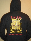 Tiger Valley Hooded Pull-Over Sweat Shirt - Mens